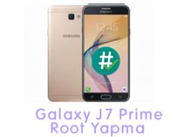 Galaxy J7 Prime Root Yapma