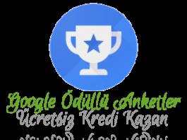 Google Ödüllü Anketler Ücretsiz Kredi Para Kazan