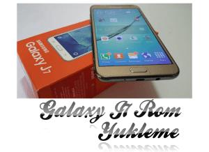 Samsung Galaxy J7 2015 Orjinal Rom Yükleme