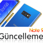 Note 9 ve S9 One 2.1 Güncellemesi Alacak Mı?